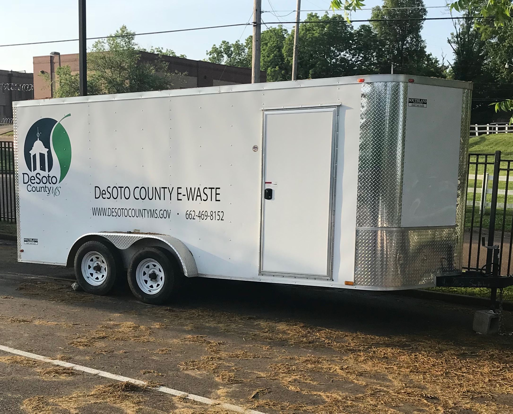 E-Waste Recycling Trailer