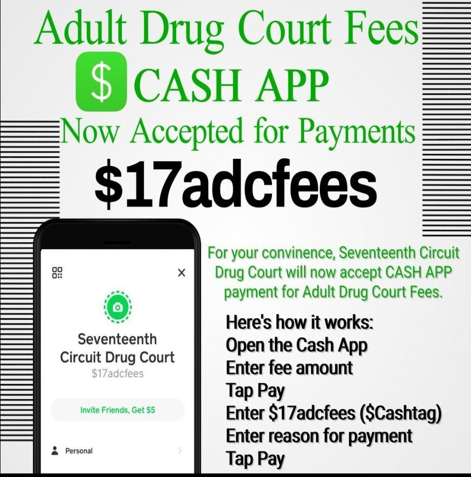 Cash App Drug Court