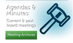 Agendas and Minutes - Current and past board meetings - Meeting Archives
